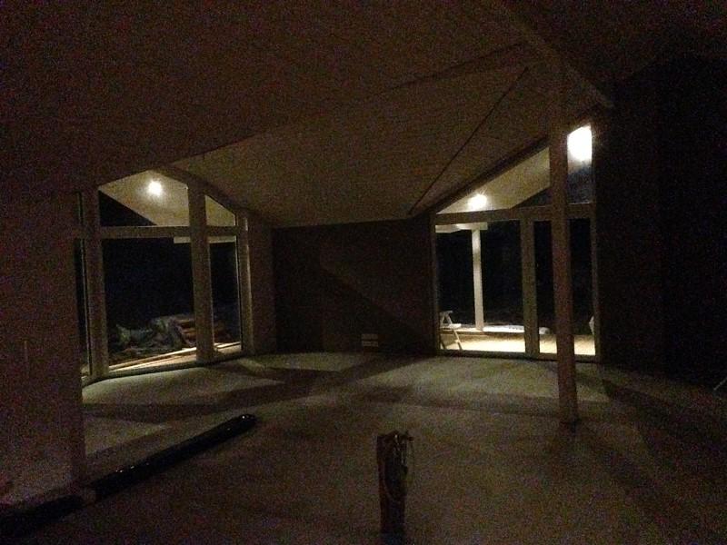 beleuchtung mit spots au en baublog f r einen d nischen bungalow typ reers. Black Bedroom Furniture Sets. Home Design Ideas